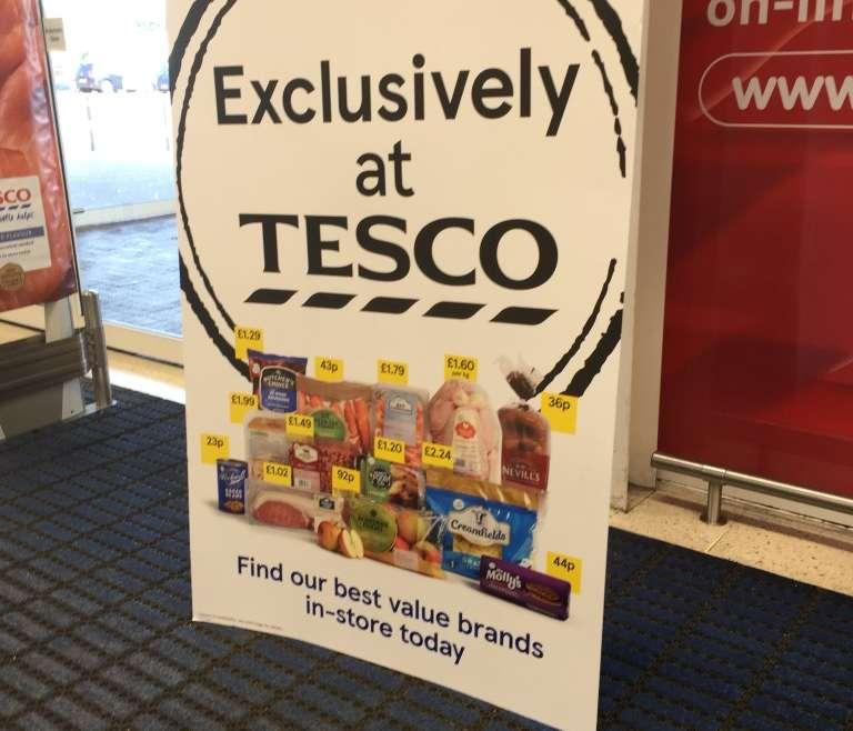Job loss at Tesco