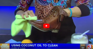 COCONUT OIL – The secure pure cleaner – VIDEO