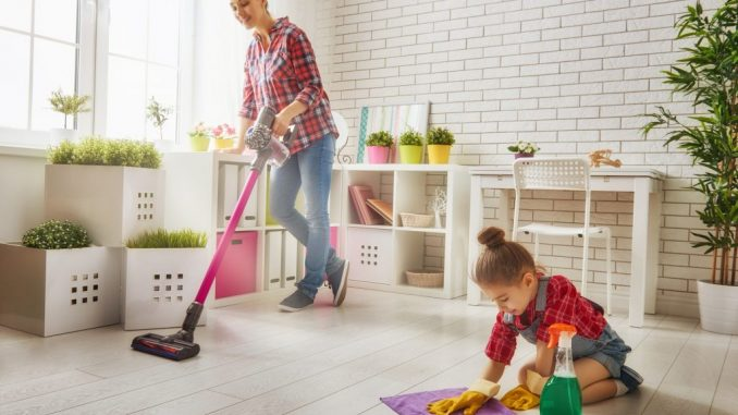 Lacking areas throughout spring cleansing