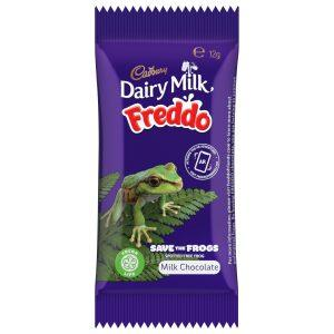 Freddo to avoid wasting the frogs
