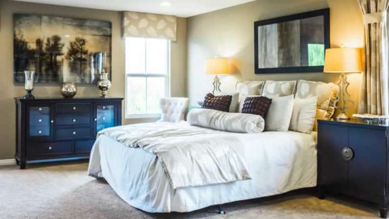 The right way to beautify a main bedroom