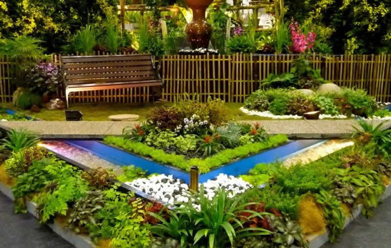 Inspiring backyard developments for the entrance yard, backyard and terrace
