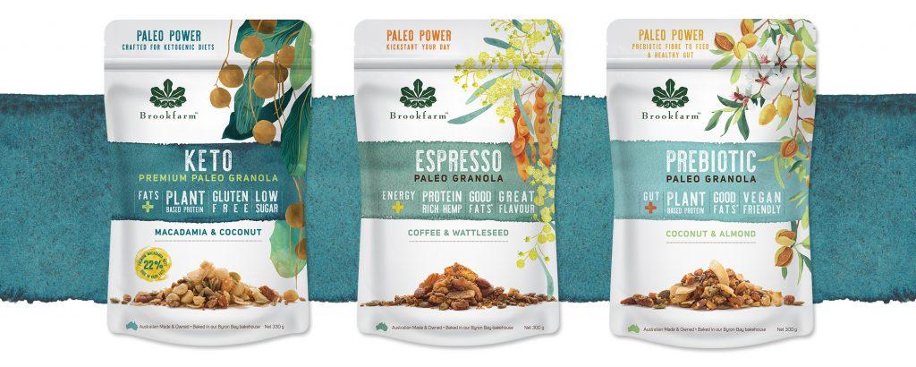 Brookfarm's new Paleo Granola vary
