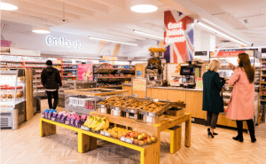 """Sainsbury's unveiled the primary """"on the go"""" retailer"""