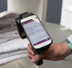 The smartphone is revolutionizing textile cleansing