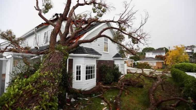What to do if a storm has broken your private home?