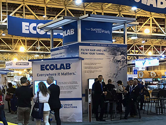Ecolab France helps laundry clients in tough occasions