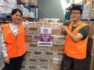 Arnott will increase meals donations to the needy