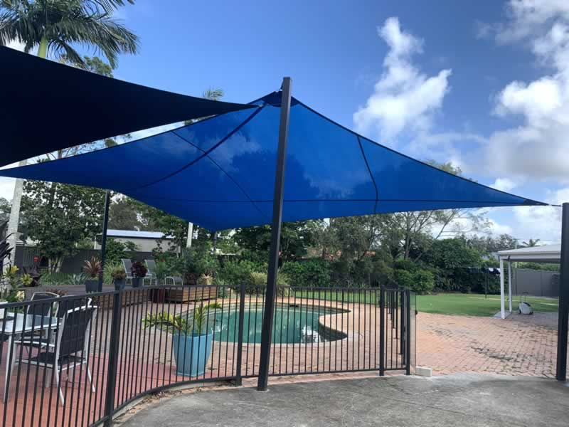 Safety towards evaporation from awnings and swimming swimming pools