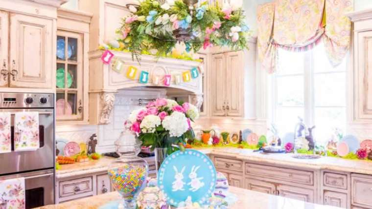 Prime methods to brighten your kitchen for Easter