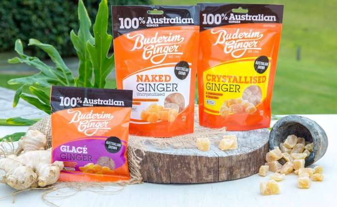 New distributors for Buderim Ginger