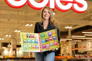 The brand new Coles collectibles will delight small readers