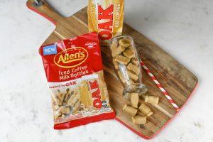 OAK Milk, however make a bag of Allen's lollipops out of it