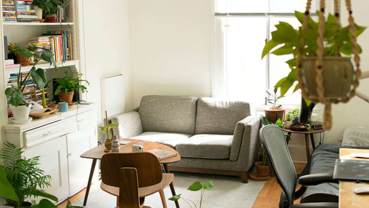Find out how to rearrange furnishings