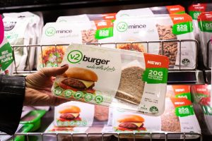 Woolworths introduces v2food in 600 shops