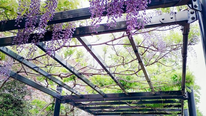DIY ideas for putting in an outside pergola