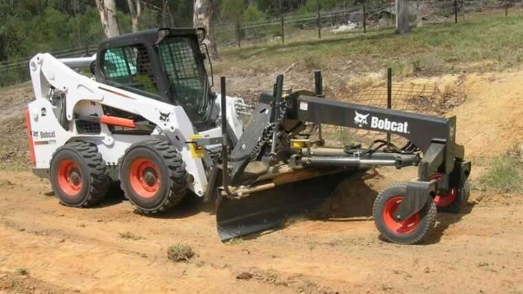 Why do you have to select actual Bobcat attachments?
