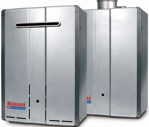 Rinnai affords free surveys, knowledge studies, and system diagrams for warm water provide