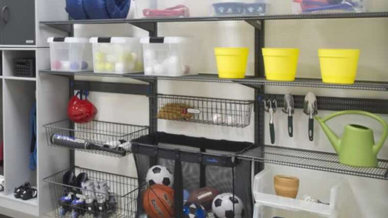 A information to organizing, storing and cleansing garages