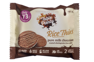 Guilt-free snacking with Desk of Lots & # 39; s Rice Thins