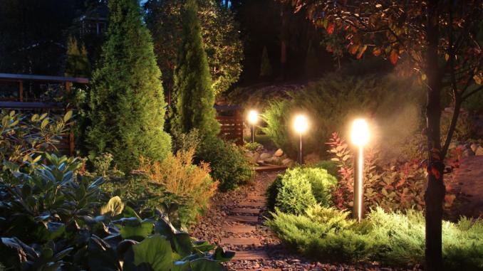 11 ideas for selecting outside lighting