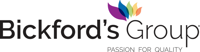 Our revolution strengthens branding with Bickfords