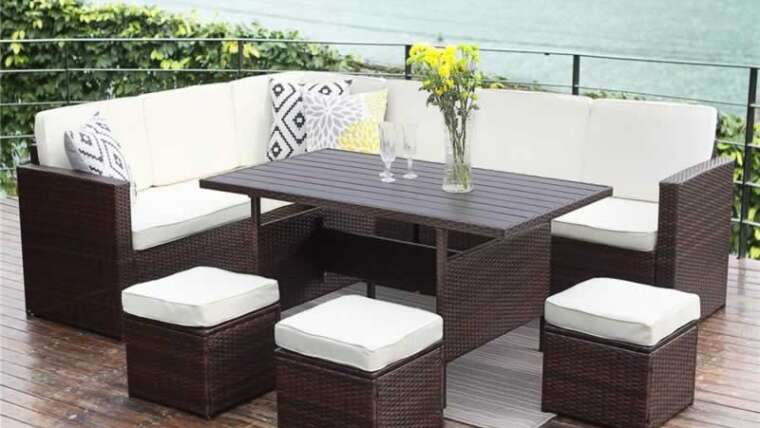 Learn how to purchase patio furnishings