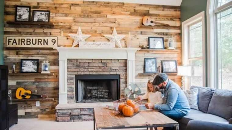 Trendy wooden paneling concepts for residing rooms