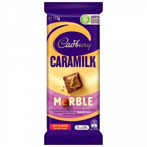 Cadbury Caramilk contributed to marble