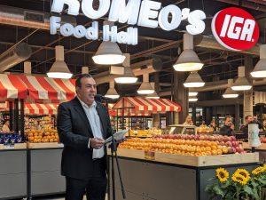 Romeos delivers Meals Corridor Fusion