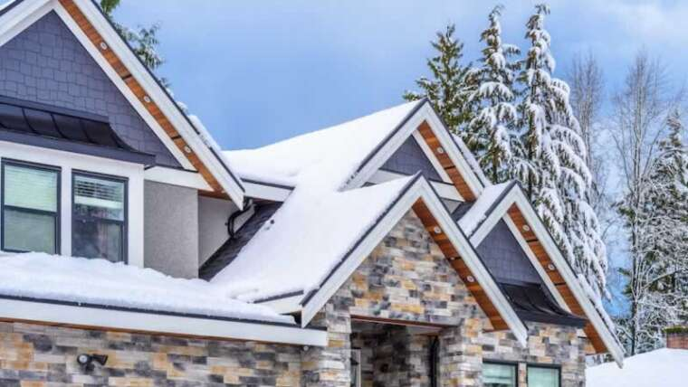 Greatest roof designs for houses to face up to winter