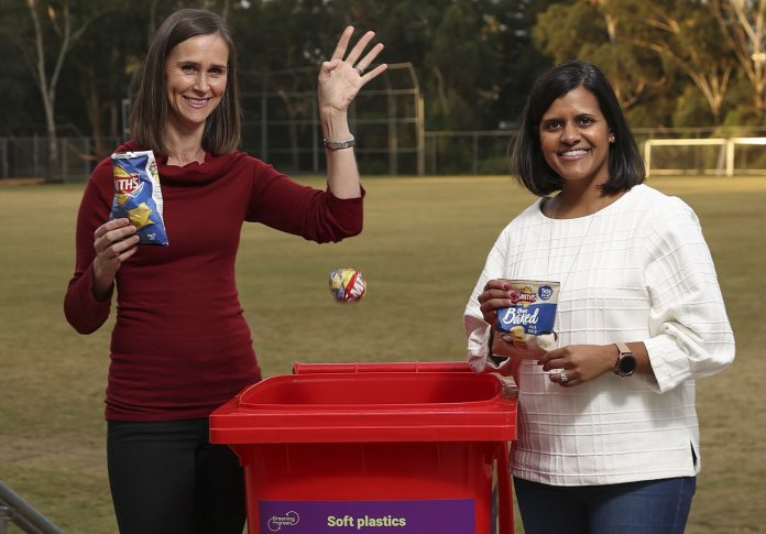 PepsicCo makes use of 100% recyclable packaging for all snacks