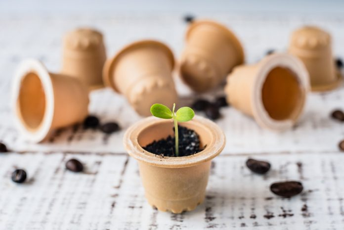 Grinders Espresso is giving the planet a espresso break with its new compostable capsules