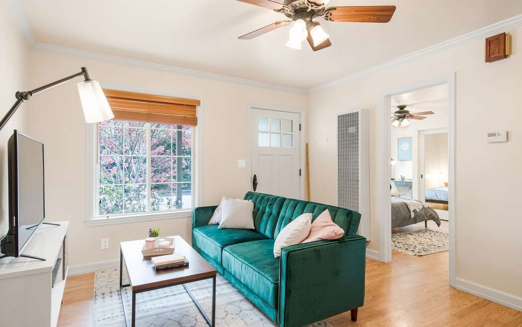 5 suggestions for putting in a ceiling fan in a small house