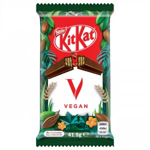KitKat goes vegan!
