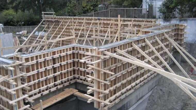 What's concrete formwork?