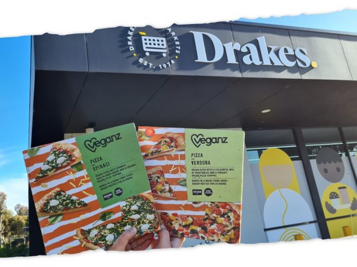 Veganz Pizza now accessible in Drake's supermarkets