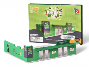 The most recent collector's merchandise from Woolies made out of 80% recycled materials