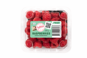 Traceability trial for Perfection Contemporary raspberries