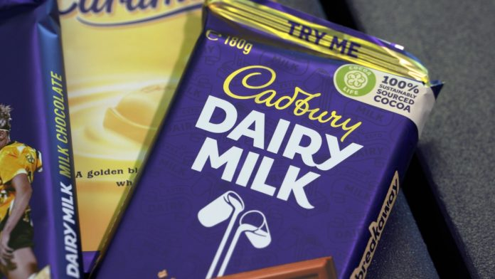 Cadbury is switching to recycled packaging
