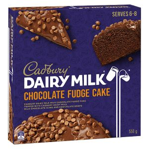 "A ""decadent twist"" on the fudge cake"