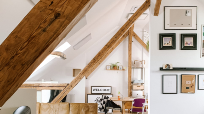 The way to maximize area with a loft conversion