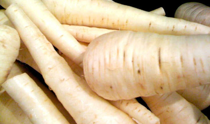 Rising parsnips, the paler cousin of the carrot
