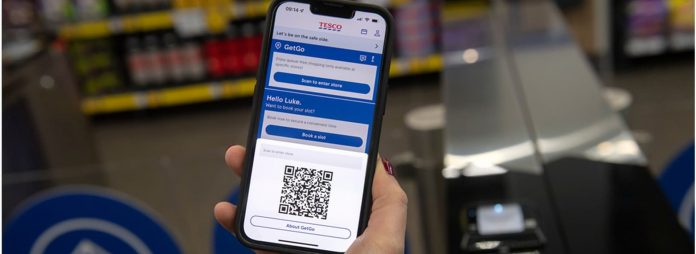 Tesco assessments checkout-free store